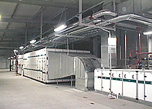 Building, installing and start-up of air-conditioning chamber